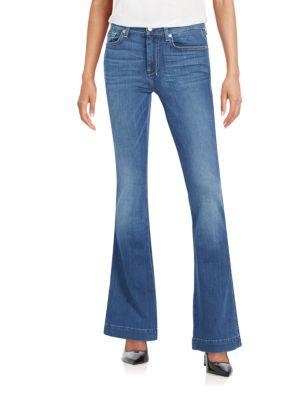7 For All Mankind The Slim Trouser Jean In Blue