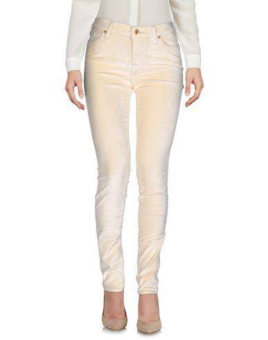 7 For All Mankind Casual Pants In Sand
