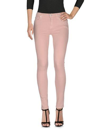 7 For All Mankind Denim Pants In Skin Color