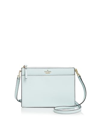 Kate Spade Cameron Street Clarise Leather Crossbody In Island Waters/Gold