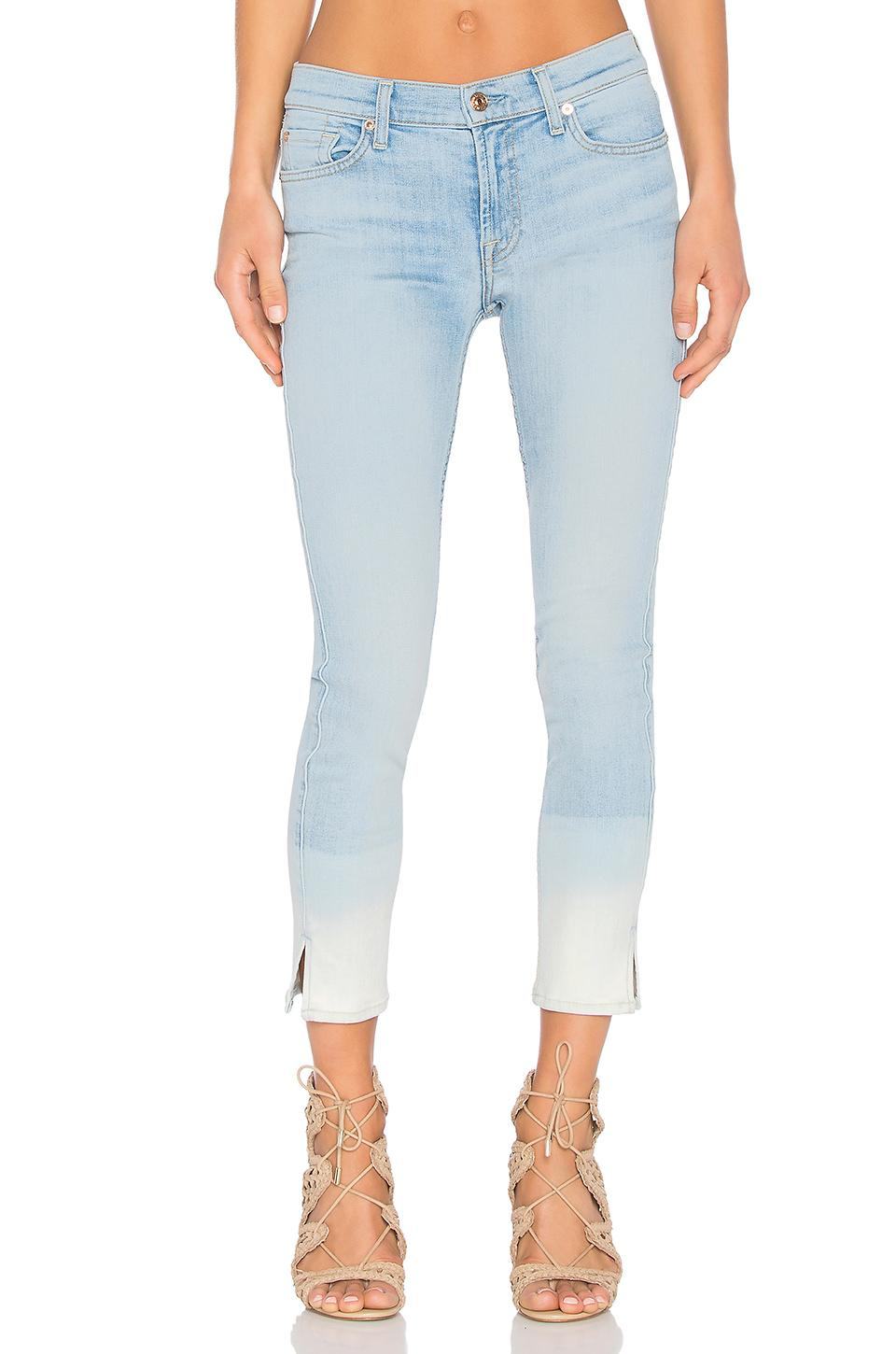 7 For All Mankind Ankle Skinny In Ocean Breeze 2