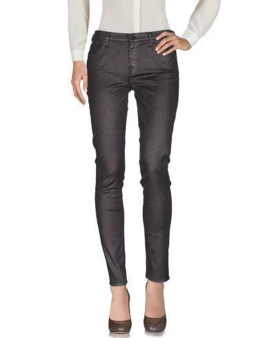 7 For All Mankind Casual Pants In Dark Brown