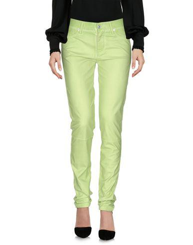 7 For All Mankind Casual Pants In Light Green