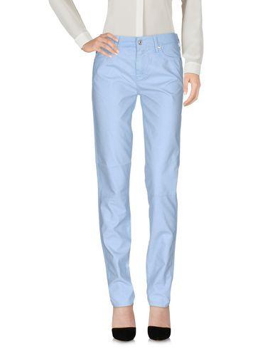 7 For All Mankind Casual Pants In Sky Blue