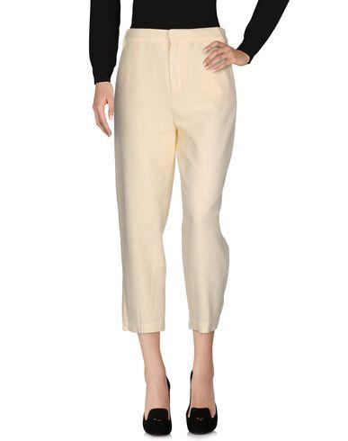 7 For All Mankind Casual Pants In Light Yellow