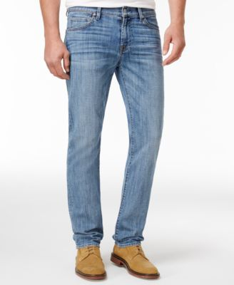 7 For All Mankind Men'S Slim-Fit Stretch Jeans  In Solc