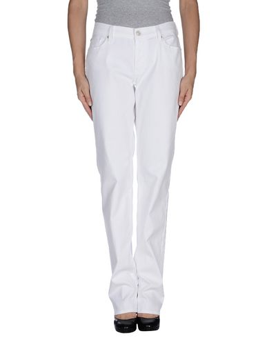 7 For All Mankind Denim Pants In White