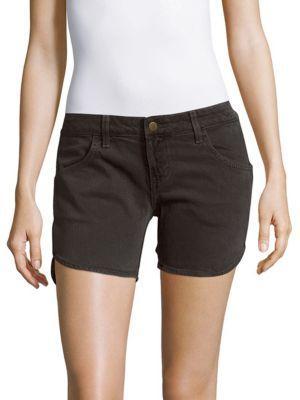 Siwy Scarlet Four-Pocket Denim Shorts In Clay