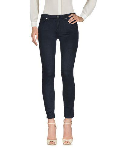 7 For All Mankind Casual Pants In Dark Blue