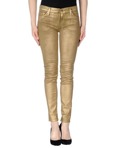 7 For All Mankind Jeans In Gold