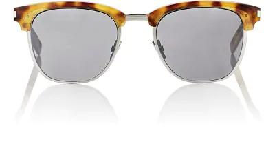 Saint Laurent Classic 108 Retro Sunglasses, Brown