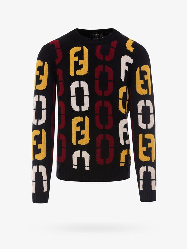 Fendi Sweater In Black