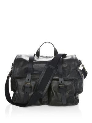 Belstaff Colonial Messenger Bag In Black