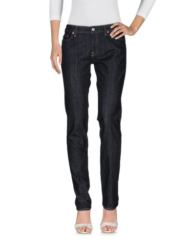 7 For All Mankind Denim Trousers In Blue