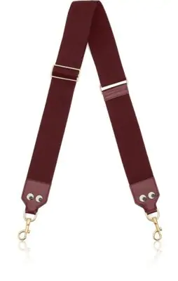 Anya Hindmarch Eyes Adjustable Shoulder Strap In Red