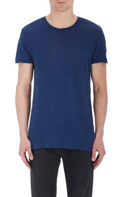 Iro Jaoui Linen T-Shirt In Blue