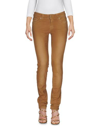 7 For All Mankind Denim Pants In Brown