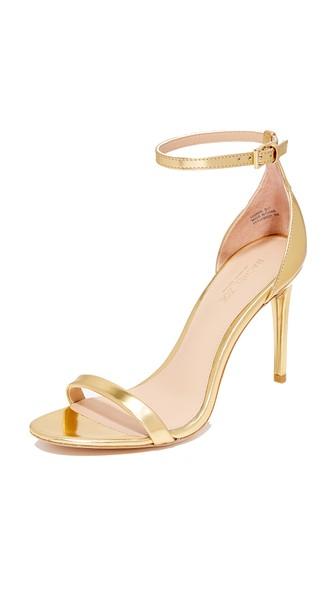 Rachel Zoe Ema Metallic Heel In Gold