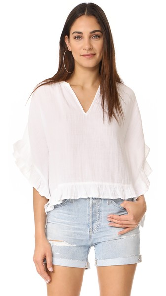 Xirena Remy Top In White
