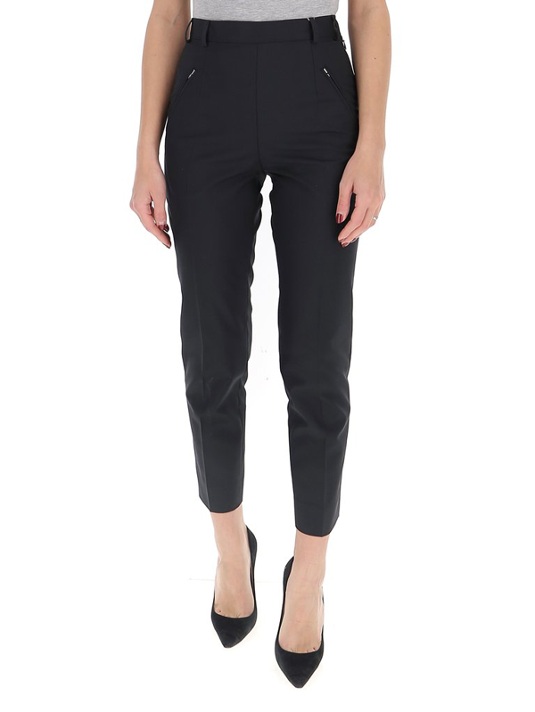 Maison Margiela Tailored Trousers In Black