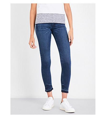 Rag & Bone Skinny Mid-Rise Jeans In Alembic