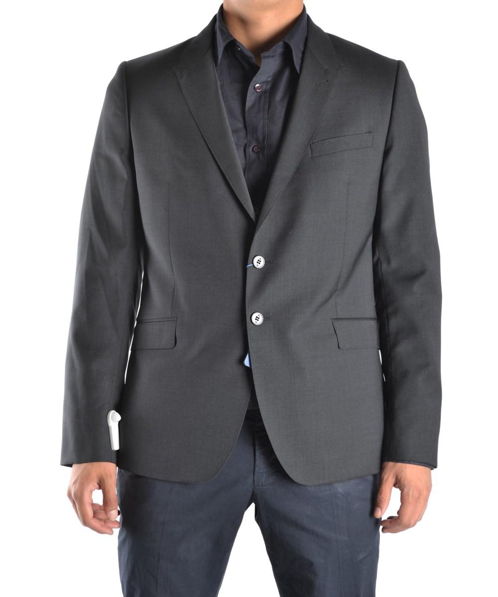 Paul Smith Men's  Grey Wool Blazer