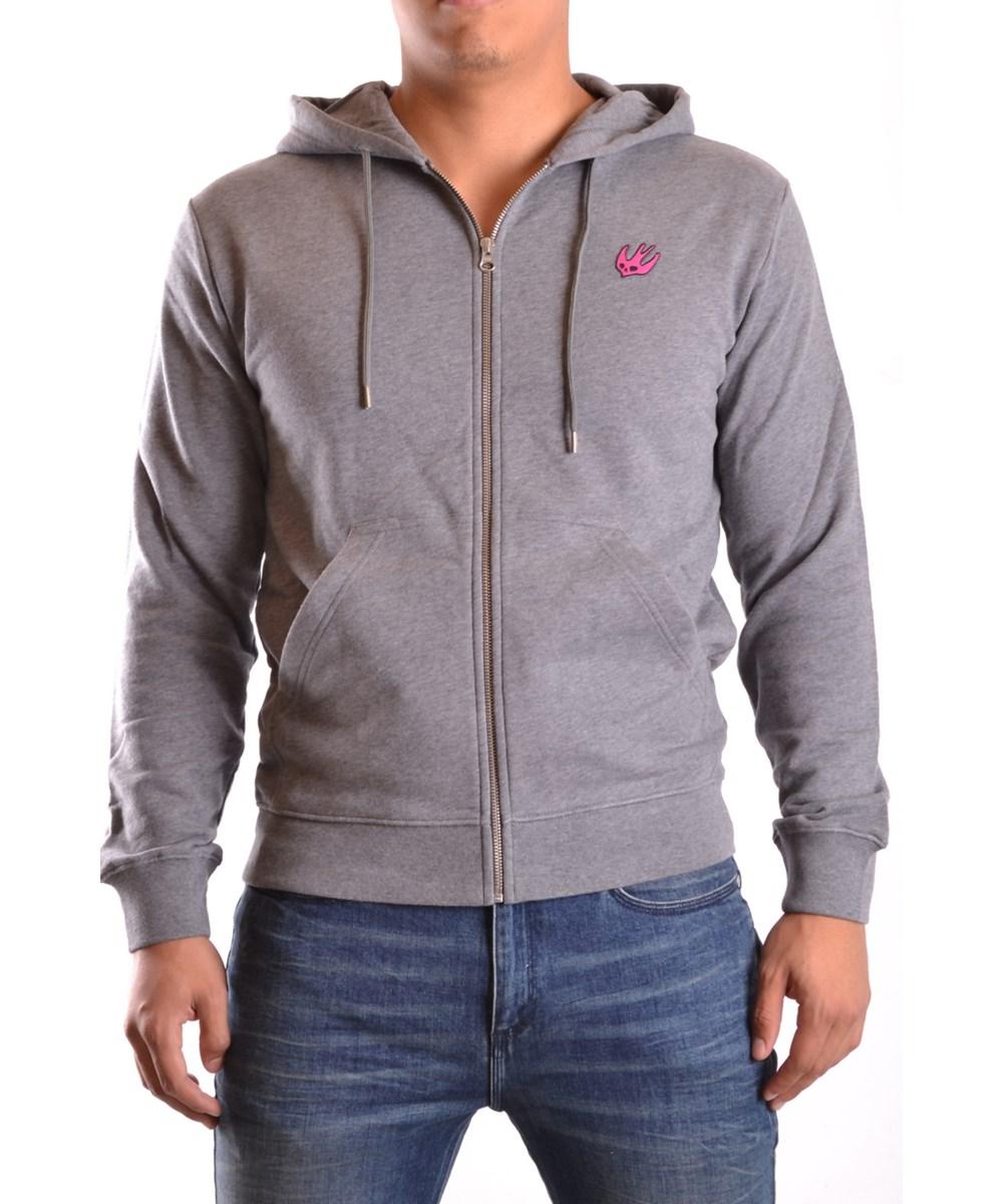 Mcq By Alexander Mcqueen Mcq Alexander Mcqueen Men's  Grey Cotton Sweatshirt