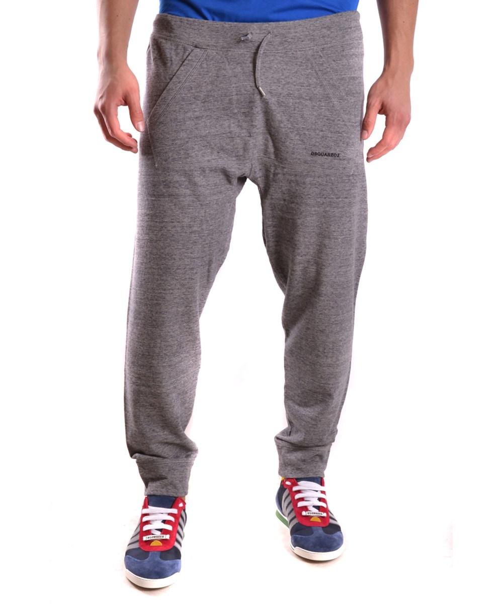 Dsquared2 Men's  Grey Cotton Joggers