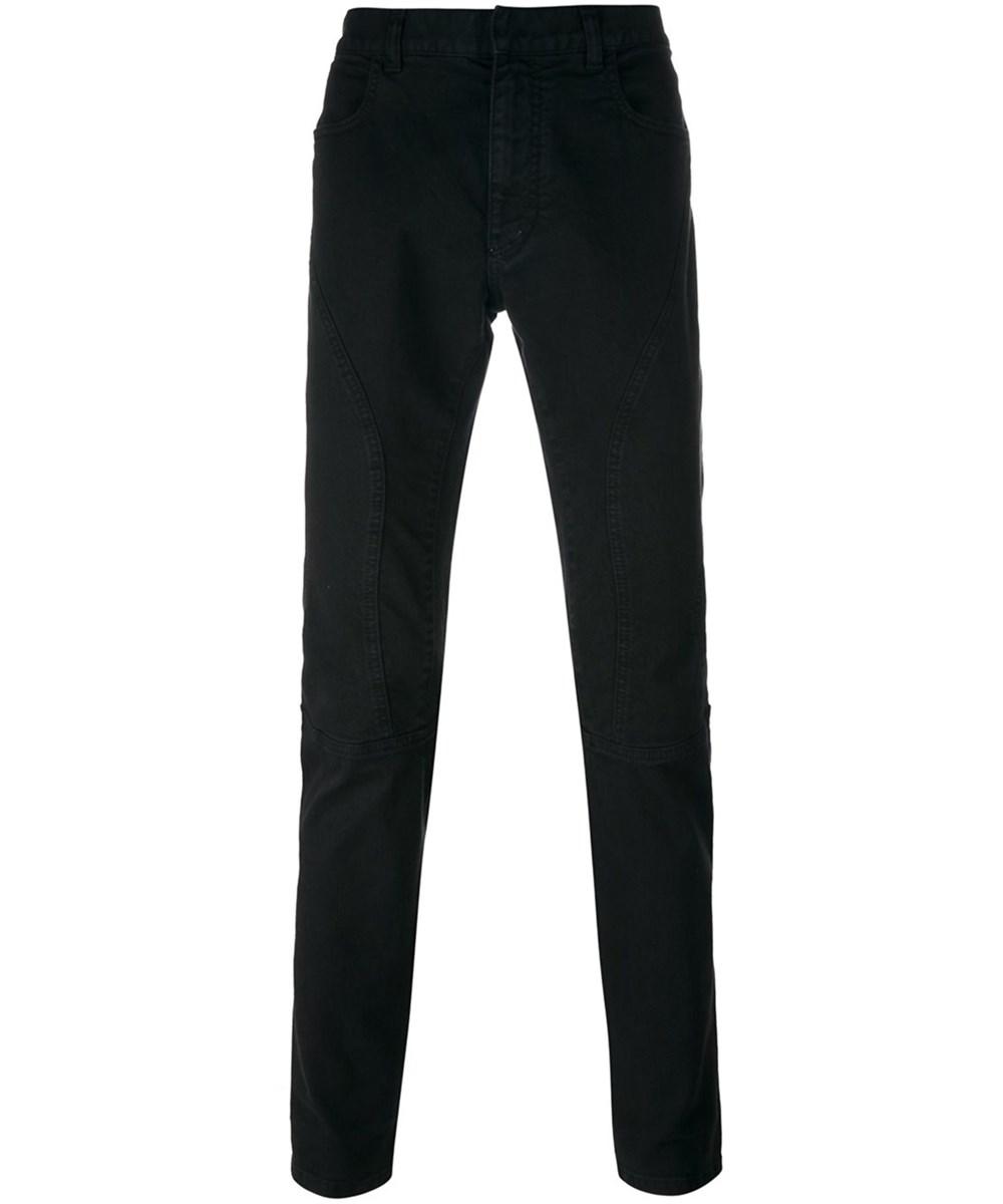 Faith Connexion Men's  Black Cotton Jeans