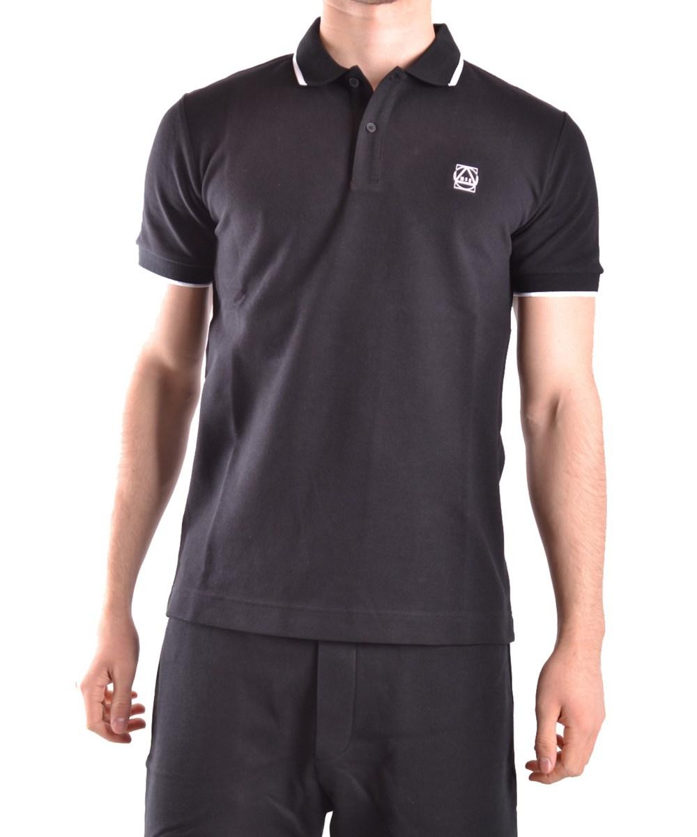 Mcq By Alexander Mcqueen Mcq Alexander Mcqueen Men's  Black Cotton Polo Shirt