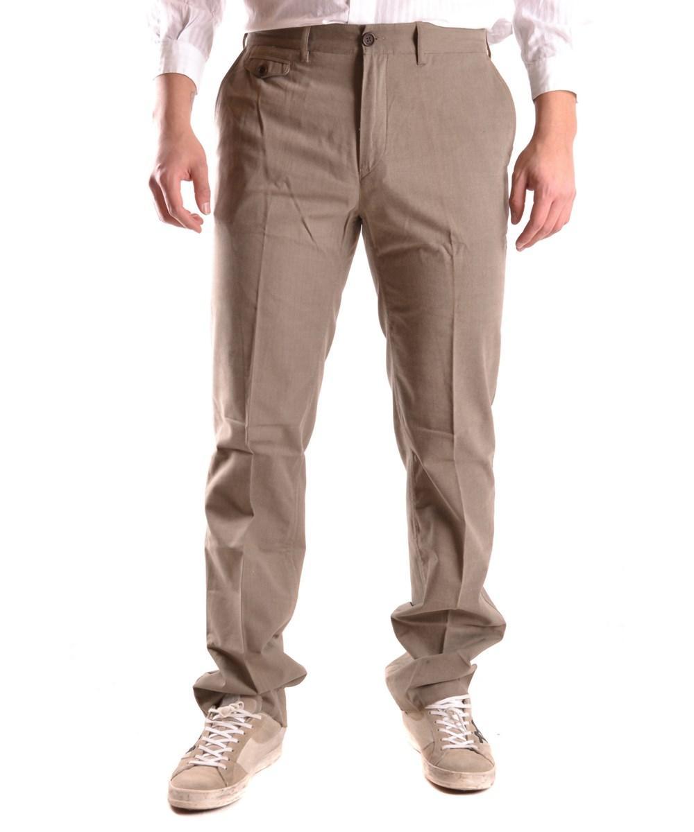Lacoste Men's  Green Cotton Pants