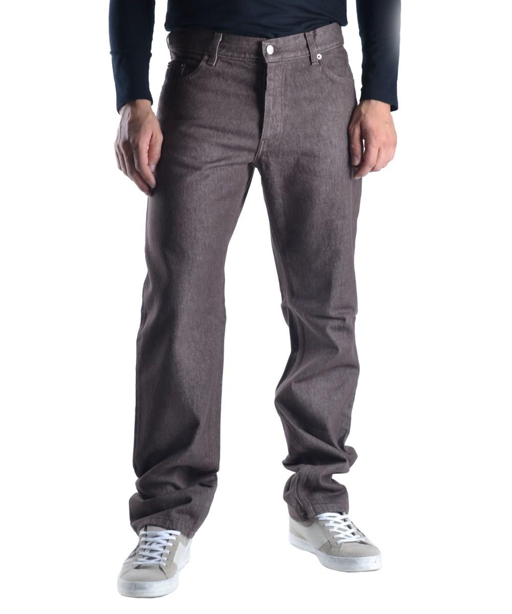 Helmut Lang Men's  Brown Cotton Pants