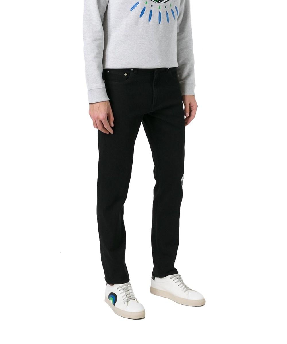 Kenzo Men's  Black Cotton Pants