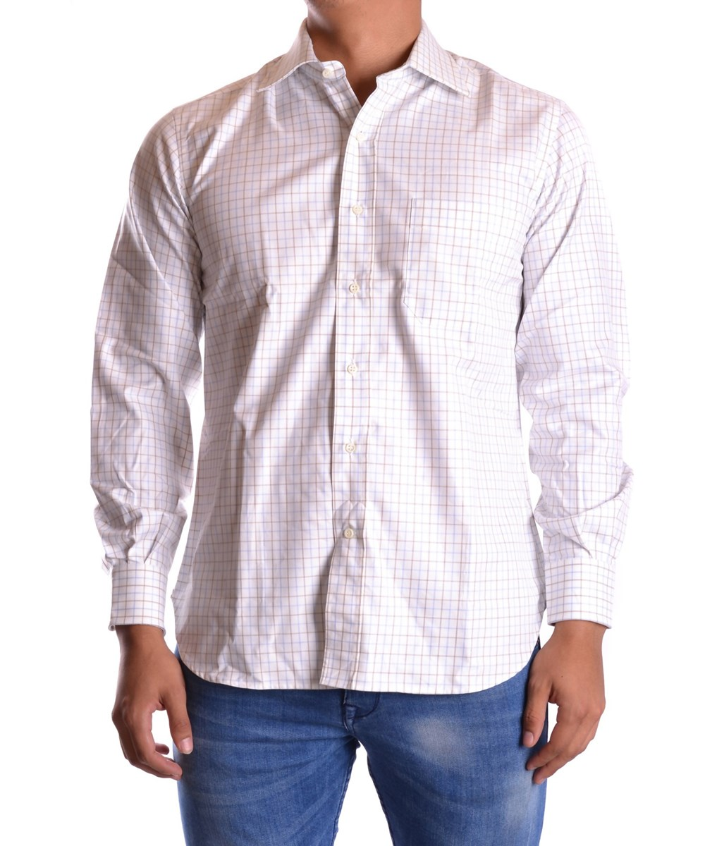 Z Zegna Men's  Multicolor Cotton Shirt In Multiple Colors