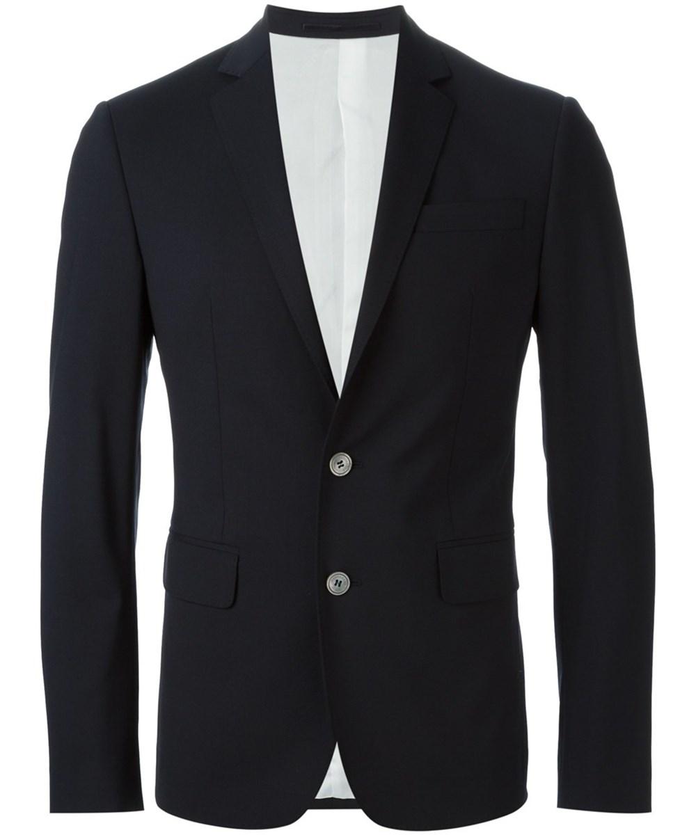 Dsquared2 Men's  Black Wool Suit
