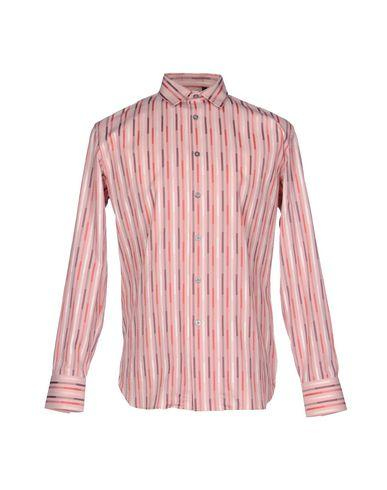 Ps By Paul Smith Striped Shirt In Pink