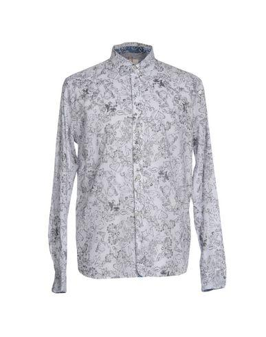 Diesel Patterned Shirt In Light Yellow
