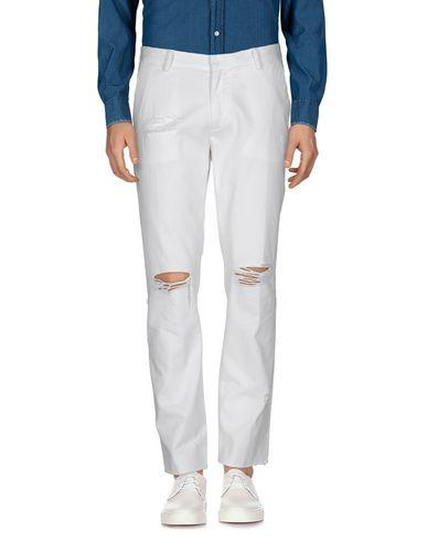 Roundel London Casual Pants In White