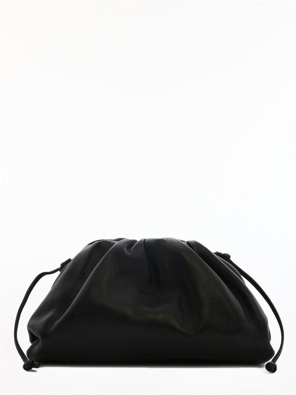 Bottega Veneta Black The Mini Pouch Bag
