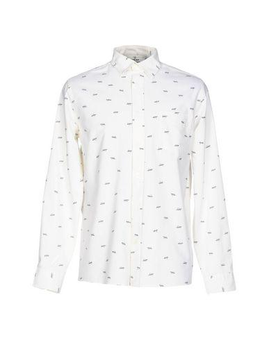 Cheap Monday Patterned Shirt In Ivory