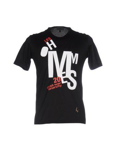 Les Hommes T-Shirt In Black