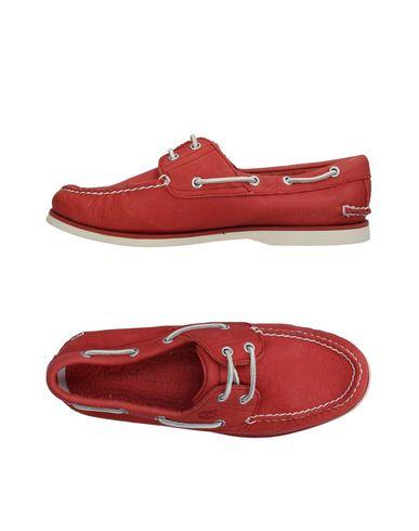 Timberland Loafers In Brick Red