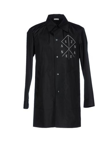 Sankuanz Full-Length Jacket In Black