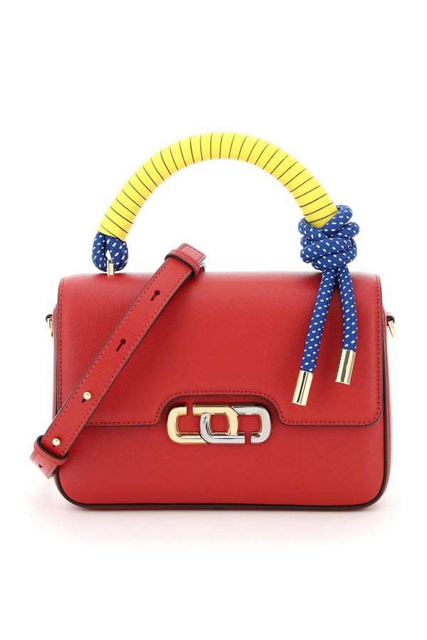 Marc Jacobs The J Link Leather Bag In Red