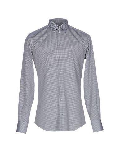 Dolce & Gabbana Checked Shirt In Black