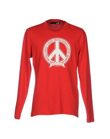 Love Moschino T-Shirts In Red