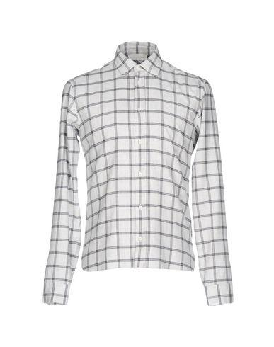 Faith Connexion Checked Shirt In Light Grey