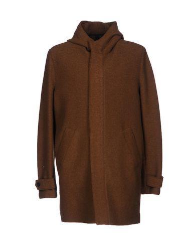Harris Wharf London Coat In Brown