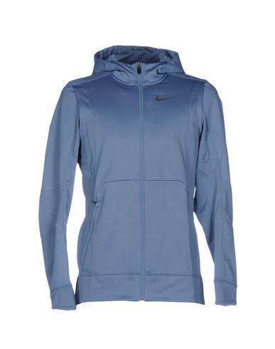 Nike Hooded Sweatshirt In Pastel Blue