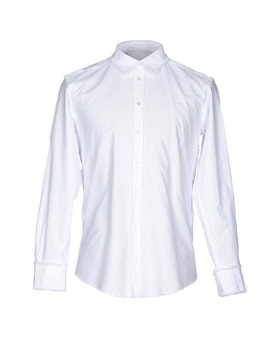 Msgm Solid Color Shirt In White